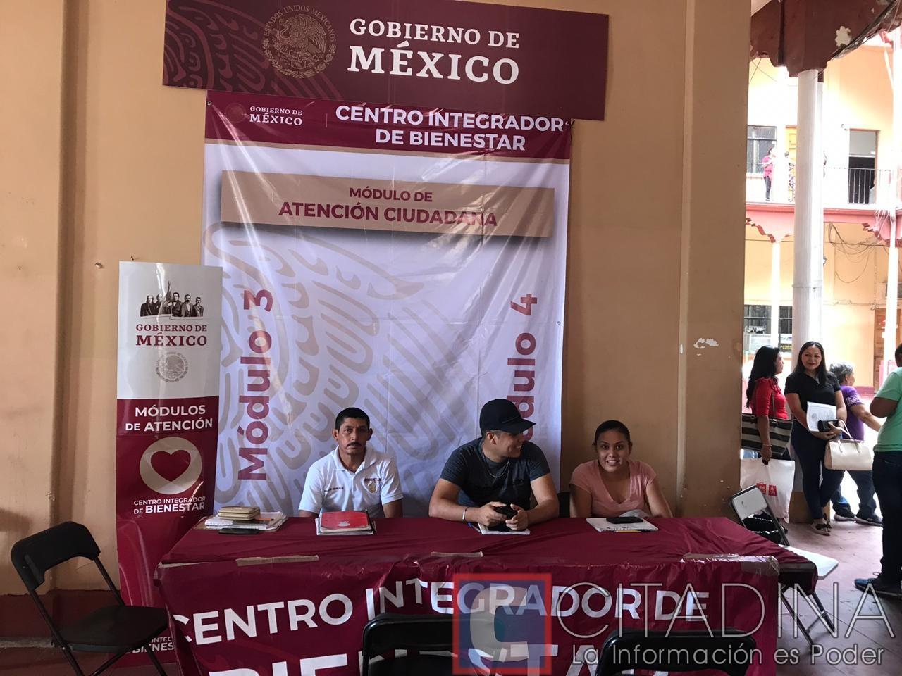 Instalan En Palacio Centro Integrador Bienestar Donde