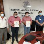 Paco Huacus recibe constancia de mayoría y validez que lo acreditan cono Diputado Federal Electo
