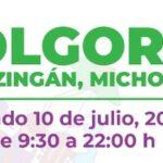 Llega el Jolgorio Cultural a Apatzingán