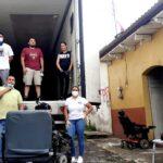 La Asociación Civil Los Abuelitos de Apatzingan cuentan con aparatos de movilidad