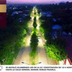 """Gobierno invirtió más de 14 mdp a través de """"Iluminemos Apatzingán"""""""