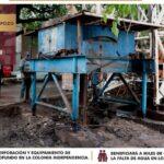 Gobierno de JLC invirtió más de 9 mdp en obras de agua y saneamiento